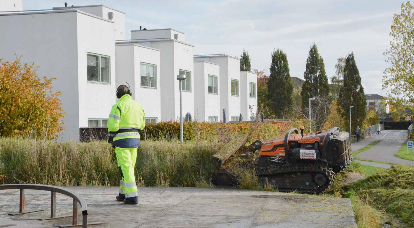 robot klip græs græsslåning nspv